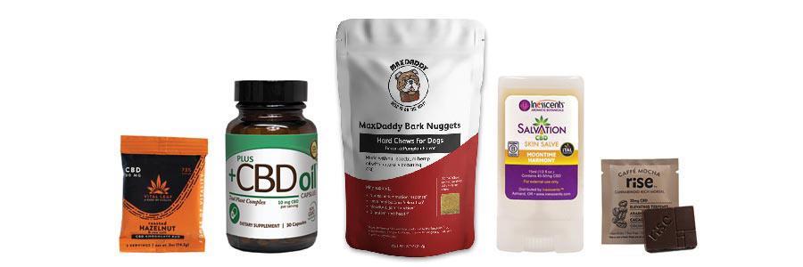 CBD Product Lineup