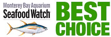 "Monterey Bay Aquarium Seafood Watch ""Best Choice"" logo"