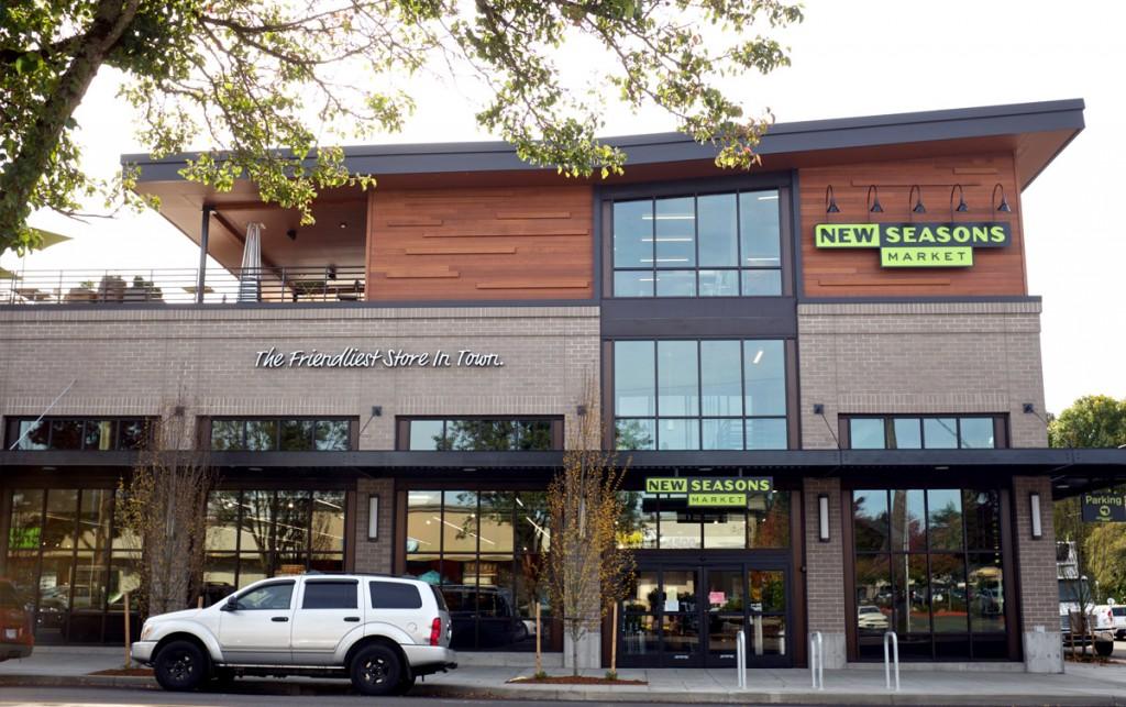 new seasons store entrance