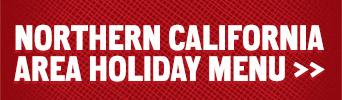 Link to Northern California holiday menu