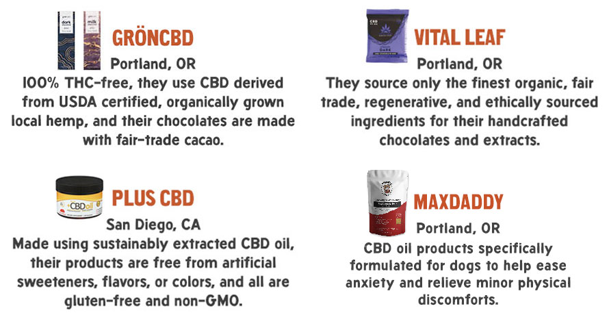 CBD Vendors and Products