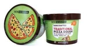 New Seasons Partner Brand Pizza Dough made in partnership with local Portland, Oregon company Bowery Bagels